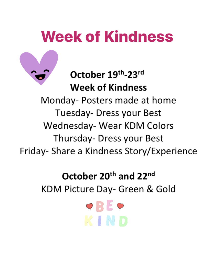 Week of kindness