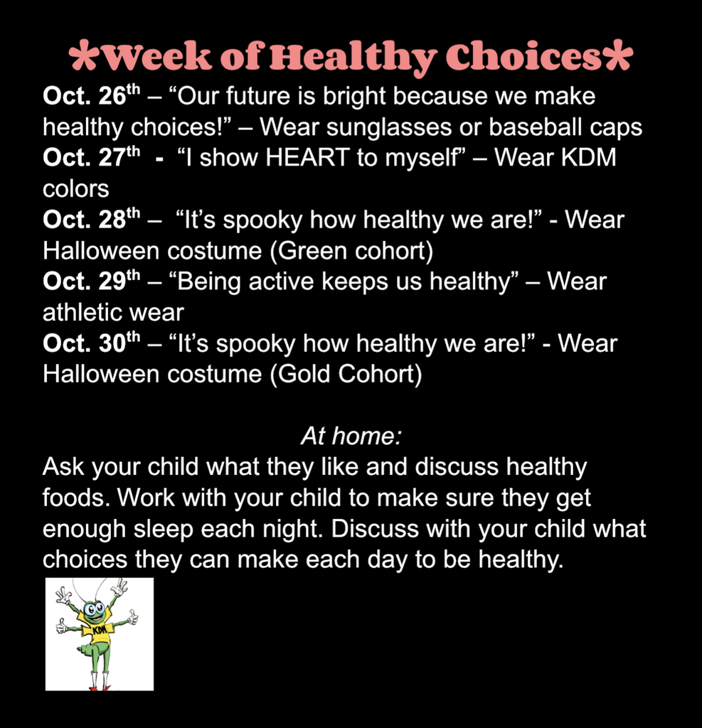 Week of Healthy Choices