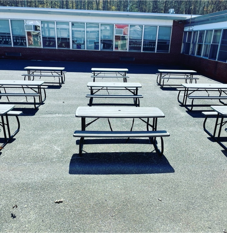 lunch tables